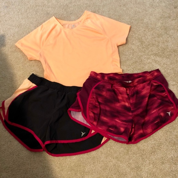 Old Navy Other - Old navy active shorts and shirt